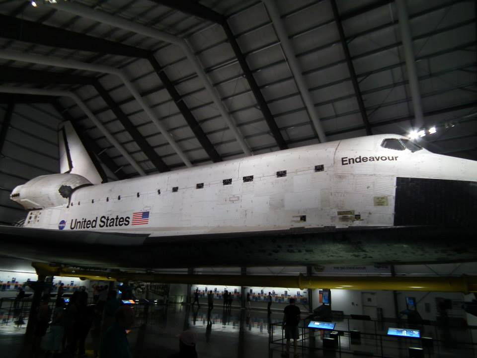 There's the space shuttle…