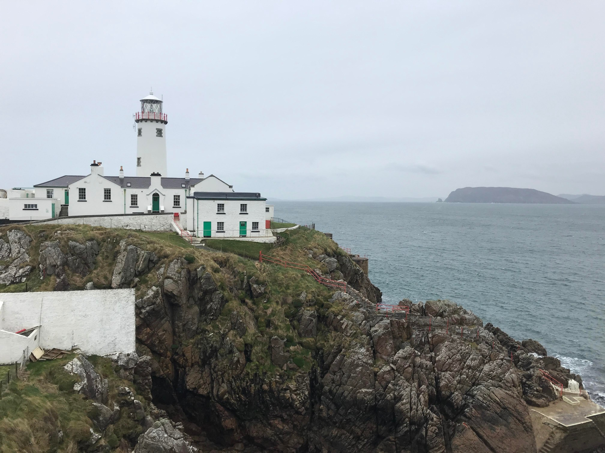 A blustery day at Fanad Lighthouse