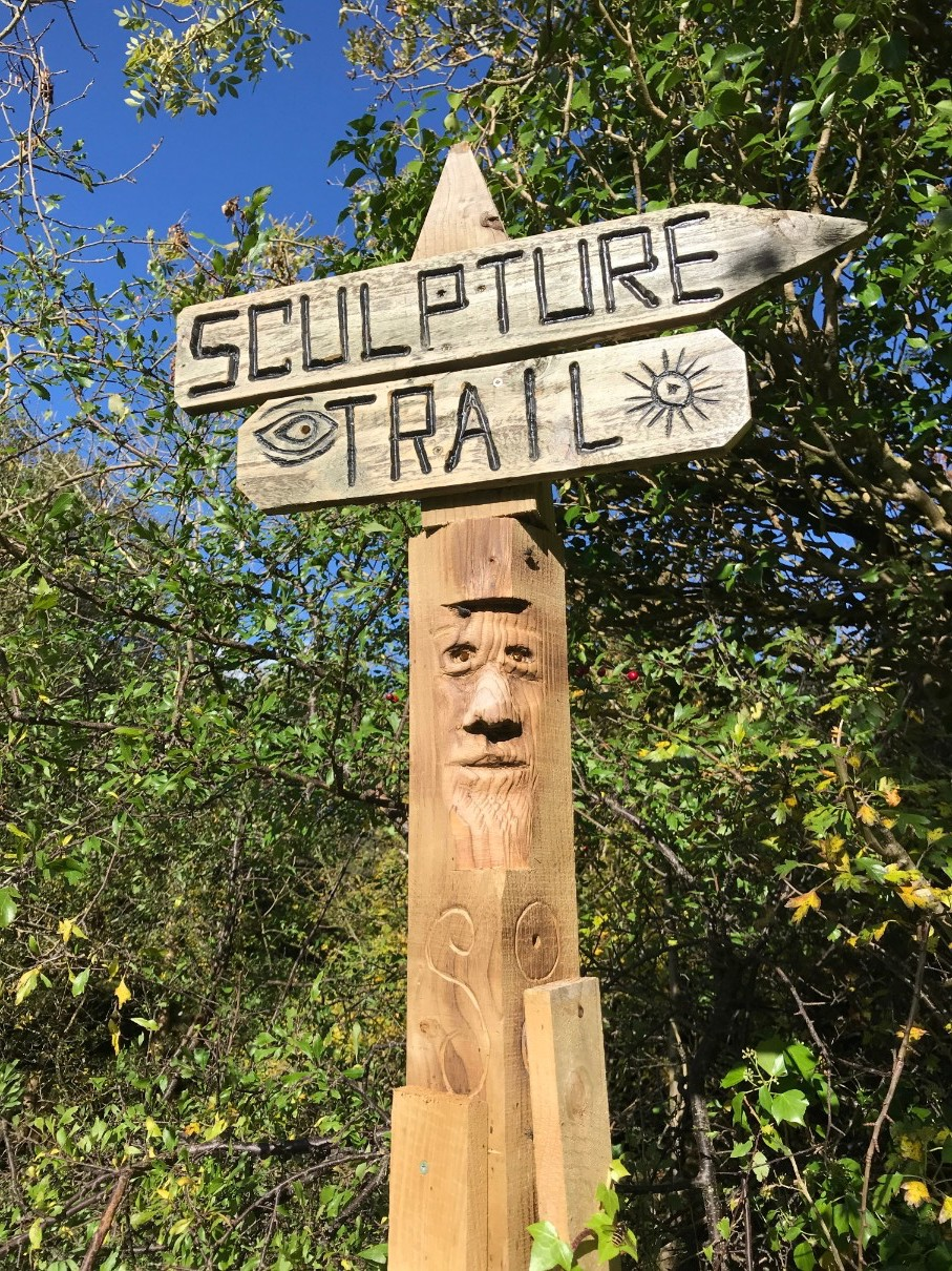Sculpture Trail at Gleniff Horseshoe