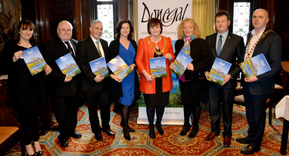Promoting Donegal in Glasgow in 2015 - six years in