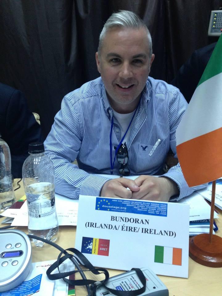 picture shows Shane Smyth representing Bundoran in Siret, Romania 2015