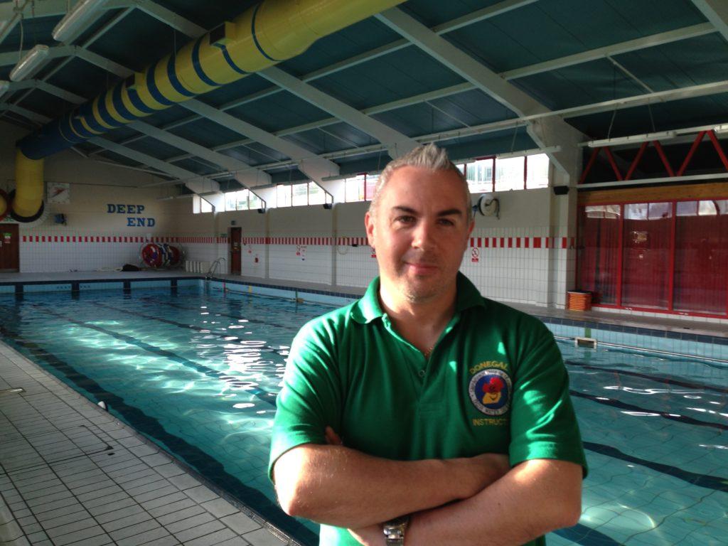 Shane Smyth at Ballyshannon pool